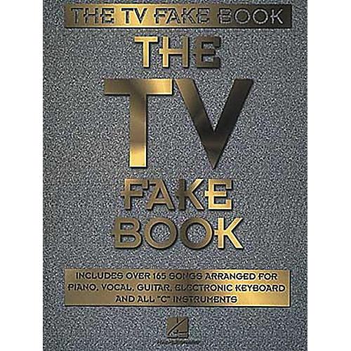 Hal Leonard The TV Fake Book Piano/Vocal/Guitar Songbook