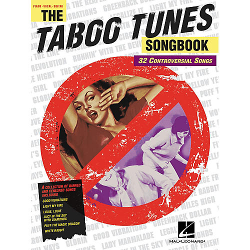 Hal Leonard The Taboo Tunes Piano/Vocal/Guitar Songbook-thumbnail