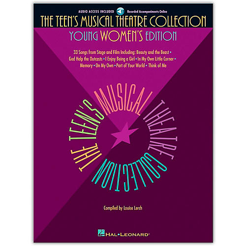 Hal Leonard The Teen's Musical Theatre Collection (Book/Online Audio)-thumbnail