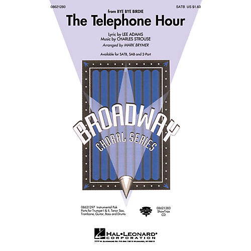 Hal Leonard The Telephone Hour (from Bye Bye Birdie) ShowTrax CD Arranged by Mark Brymer-thumbnail