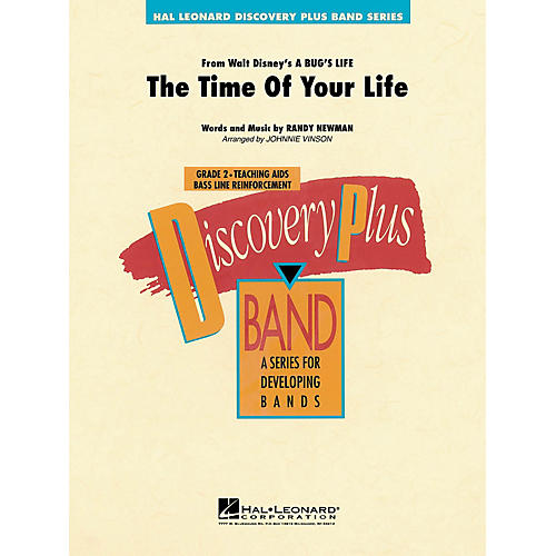 Hal Leonard The Time of Your Life - Discovery Plus Concert Band Series Level 2 arranged by Johnnie Vinson-thumbnail