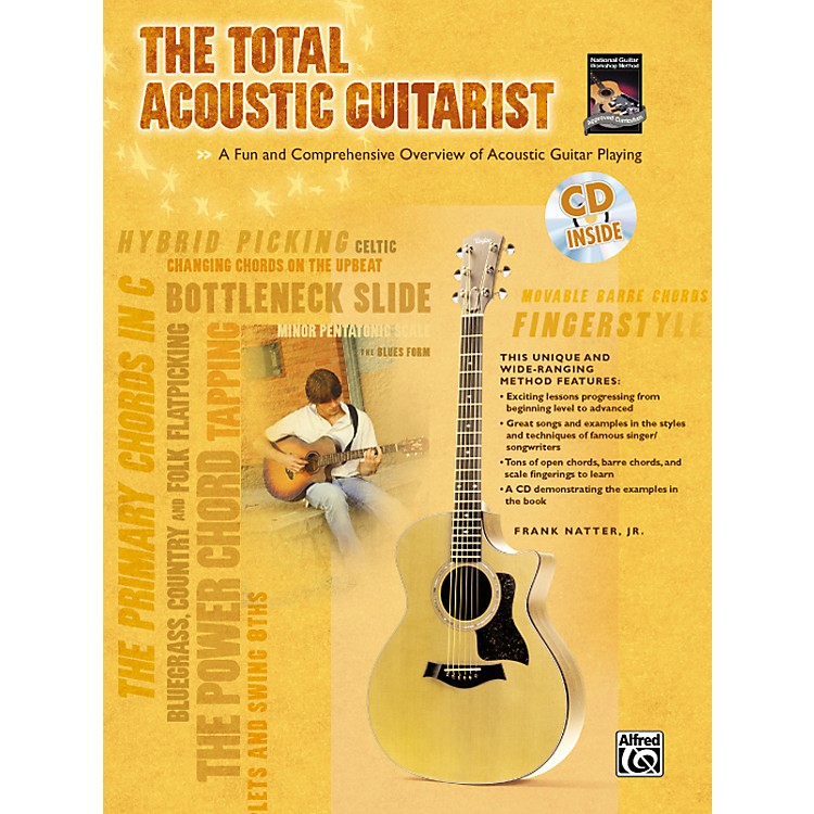 AlfredThe Total Acoustic Guitarist Book and CD