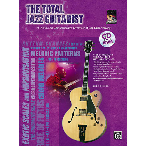 Alfred The Total Jazz Guitarist Book and CD