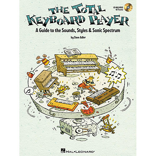 Hal Leonard The Total Keyboard Player Keyboard Instruction Series Softcover with CD Written by Dave Adler-thumbnail