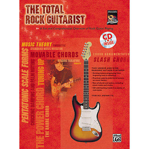 Alfred The Total Rock Guitarist Book and CD