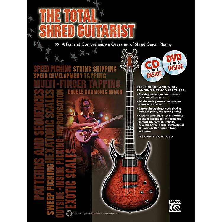Alfred The Total Shred Guitarist (Book/CD/DVD)