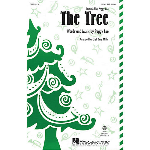 Hal Leonard The Tree 2-Part by Peggy Lee arranged by Cristi Cary Miller-thumbnail