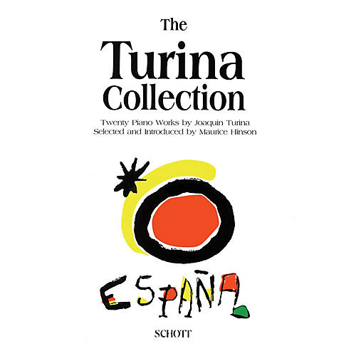 Schott The Turina Collection (20 Pieces for Piano by Joaquín Turina) Schott Series-thumbnail