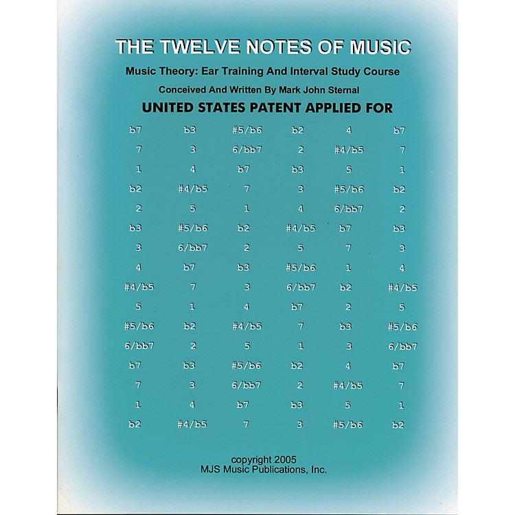 MJS Music Publications The Twelve Notes of Music (Book)