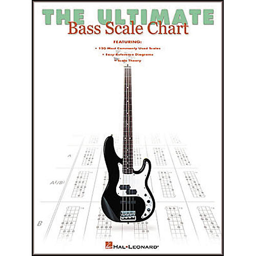 Hal Leonard The Ultimate Bass Scale Chart Book