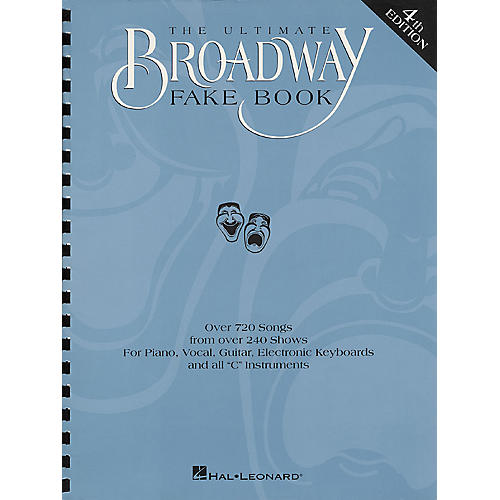 Hal Leonard The Ultimate Broadway Fake Book - 4th Edition-thumbnail