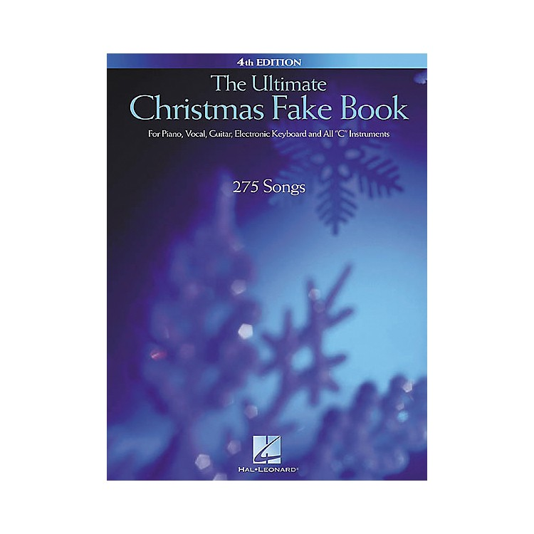 Hal Leonard The Ultimate Christmas Fake Book 4th Edition