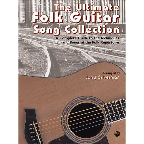 Alfred The Ultimate Folk Guitar Song Collection Book