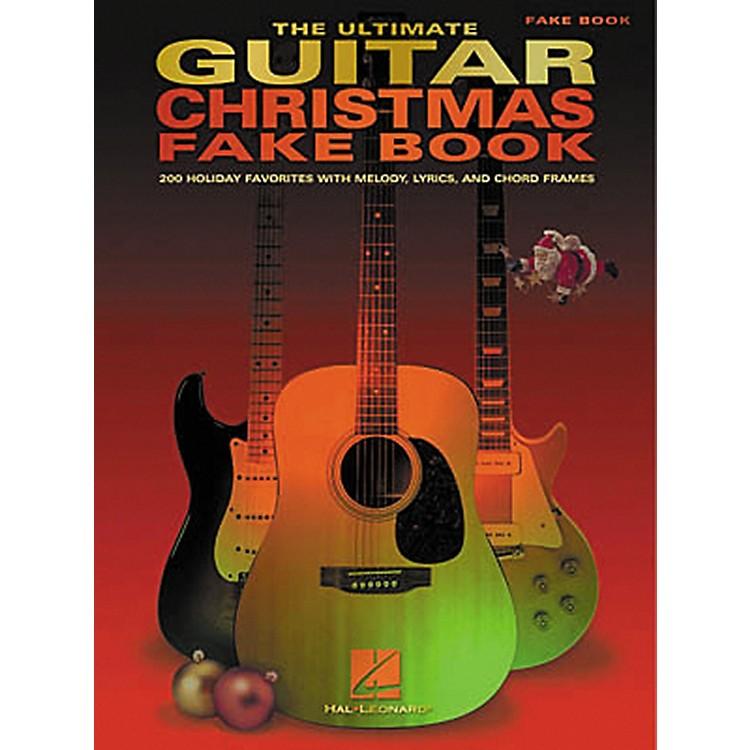 Hal LeonardThe Ultimate Guitar Christmas Fake Book