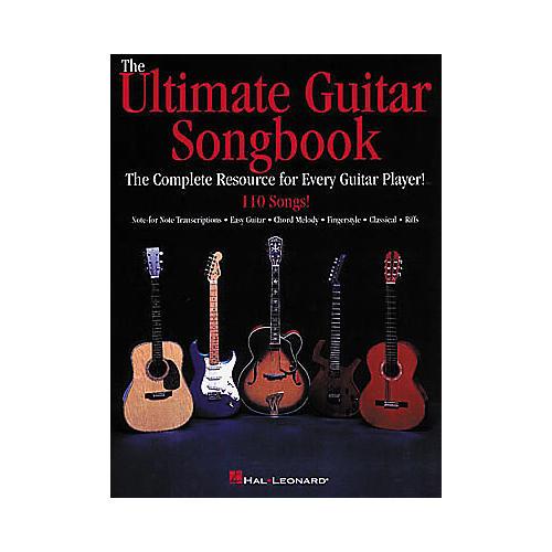 Hal Leonard The Ultimate Guitar Songbook-thumbnail