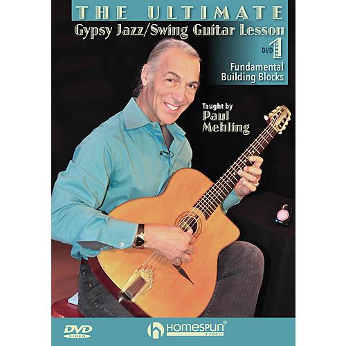 Homespun The Ultimate Gypsy Jazz/Swing Guitar Lesson Homespun Tapes Series DVD Written by Paul Mehling-thumbnail