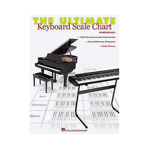 Hal Leonard The Ultimate Keyboard Scale Chart Book