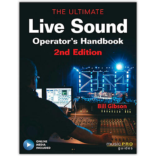 Hal Leonard The Ultimate Live Sound Operator's Handbook 2nd Edition (Book/Online Media)