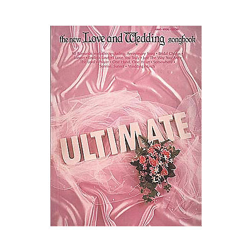 Hal Leonard The Ultimate Love and Wedding Piano/Vocal/Guitar Songbook-thumbnail