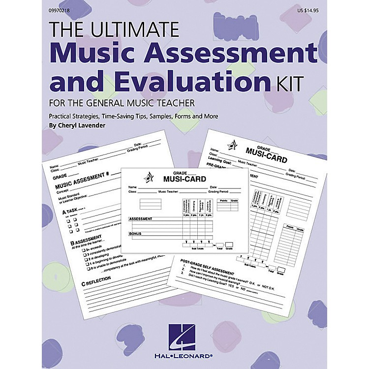 Hal Leonard The Ultimate Music Assessment and Evaluation Kit
