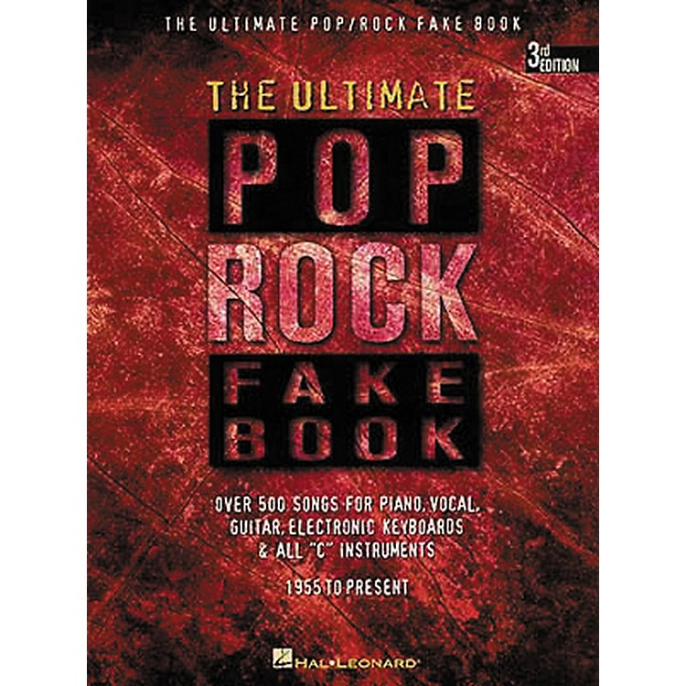 Hal Leonard The Ultimate Pop Rock Fake Book