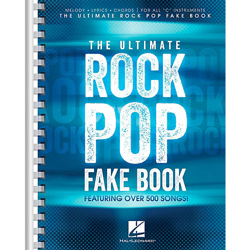 Hal Leonard The Ultimate Rock Pop Fake Book for C Instruments-thumbnail