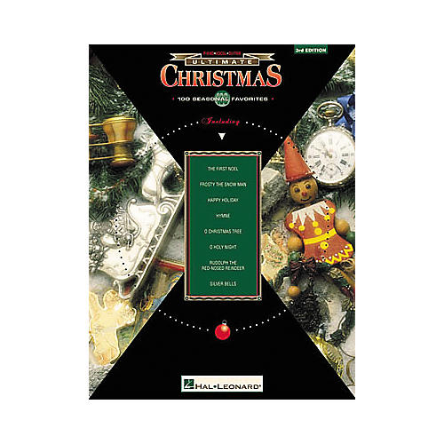 Hal Leonard The Ultimate Series Christmas 3rd Edition Piano, Vocal, Guitar Songbook