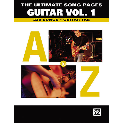 Alfred The Ultimate Song Pages Guitar Vol. 1 A to Z-thumbnail