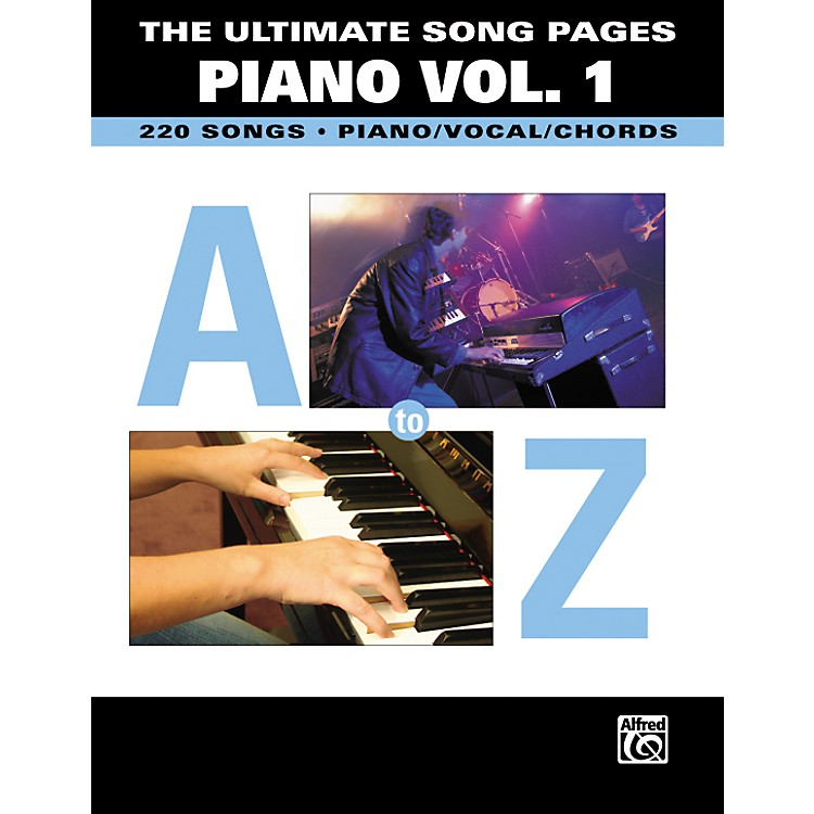 Hal Leonard The Ultimate Song Pages Piano Volume 1