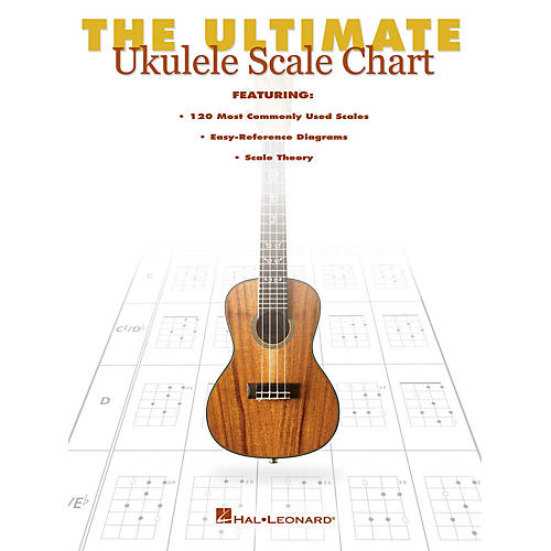 Hal Leonard The Ultimate Ukulele Scale Chart Ukulele Series Softcover Written by Various-thumbnail