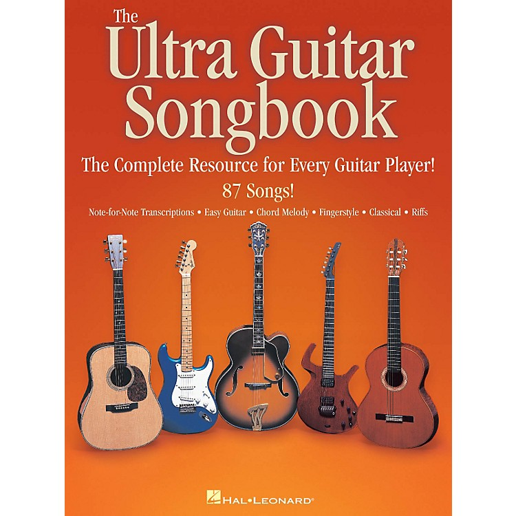 Hal Leonard The Ultra Guitar Songbook - The Complete Resource for Every Guitar Player!