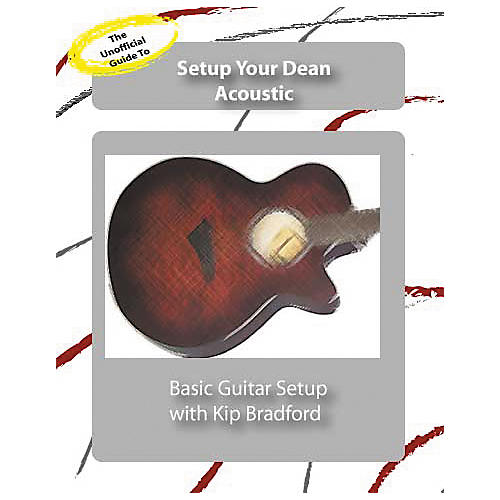 Great Nutshell Productions The Unauthorized Guide to Setup Your Dean Acoustic Guitar (DVD)