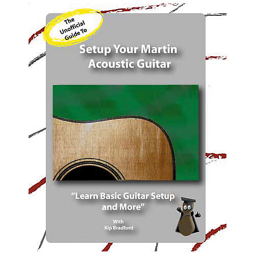 Great Nutshell Productions The Unauthorized Guide to Setup Your Martin (DVD)