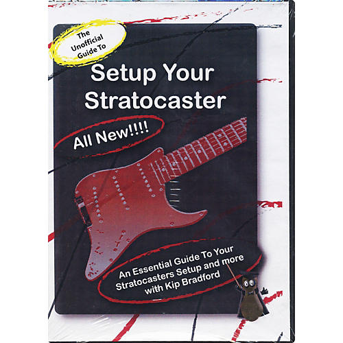 Great Nutshell Productions The Unauthorized Guide to Setup Your Stratocaster (DVD)-thumbnail