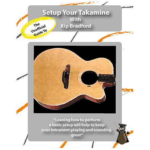 Great Nutshell Productions The Unauthorized Guide to Setup Your Takamine (DVD)