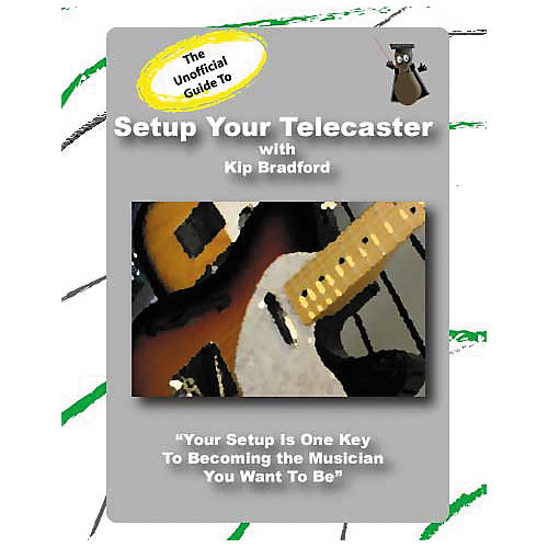 Great Nutshell Productions The Unauthorized Guide to Setup Your Telecaster (DVD)