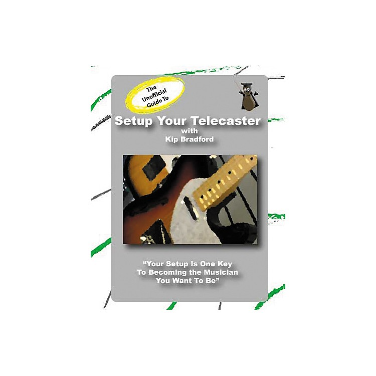 Great Nutshell ProductionsThe Unauthorized Guide to Setup Your Telecaster (DVD)