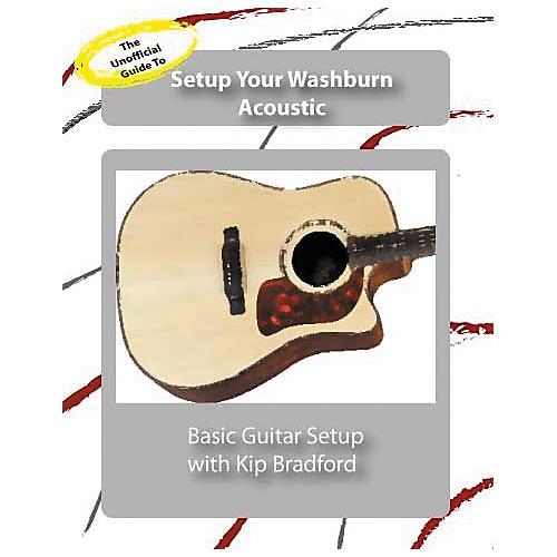 Great Nutshell Productions The Unauthorized Guide to Setup Your Washburn Acoustic Guitar (DVD)