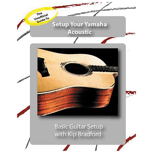 Great Nutshell Productions The Unauthorized Guide to Setup Your Yamaha Acoustic (DVD)