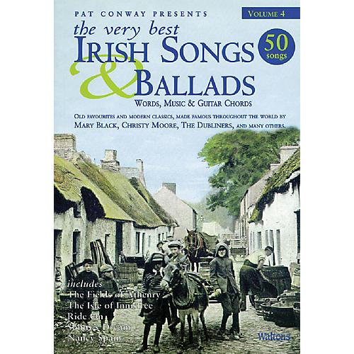 Waltons The Very Best Irish Songs & Ballads - Volume 4 Waltons Irish Music Books Series Softcover