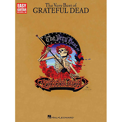 Hal Leonard The Very Best Of Grateful Dead - Easy Guitar Tab-thumbnail