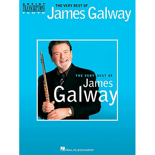 Hal Leonard The Very Best Of James Galway Flute Transcriptions-thumbnail