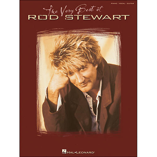Hal Leonard The Very Best Of Rod Stewart arranged for piano, vocal, and guitar (P/V/G)-thumbnail