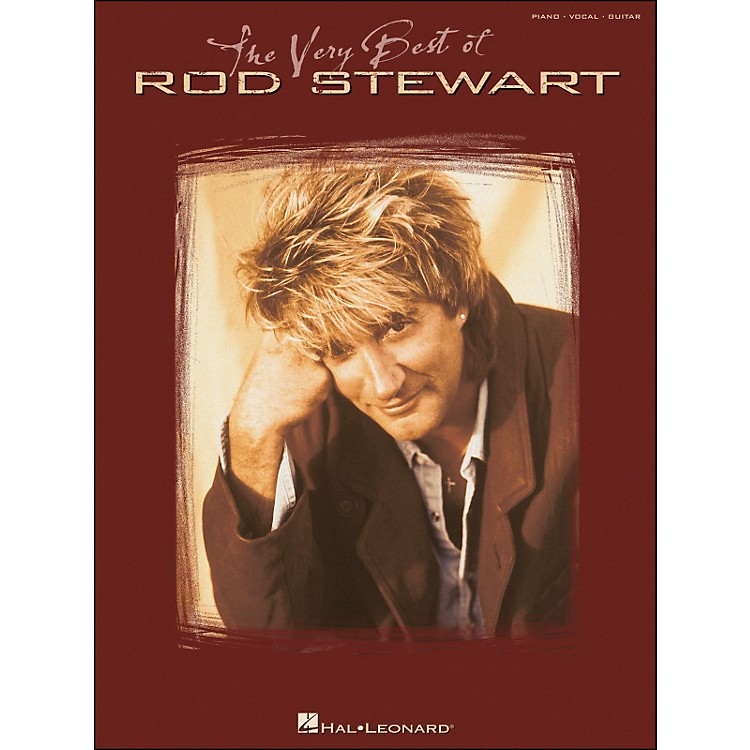 Hal LeonardThe Very Best Of Rod Stewart arranged for piano, vocal, and guitar (P/V/G)
