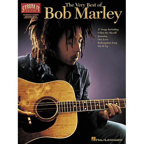 Hal Leonard The Very Best of Bob Marley (Guitar Book)-thumbnail