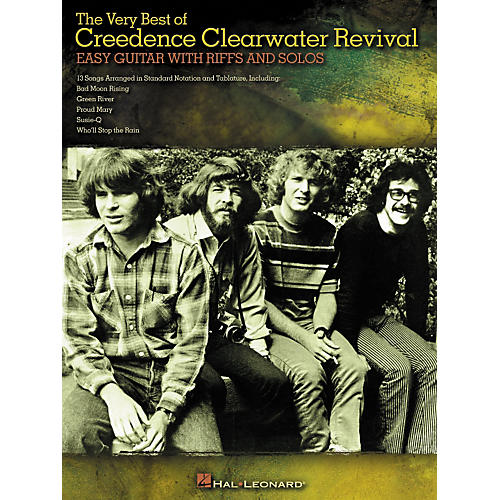 Hal Leonard The Very Best of Creedence Clearwater Revival - Easy Guitar with Tab Riffs and Solos-thumbnail
