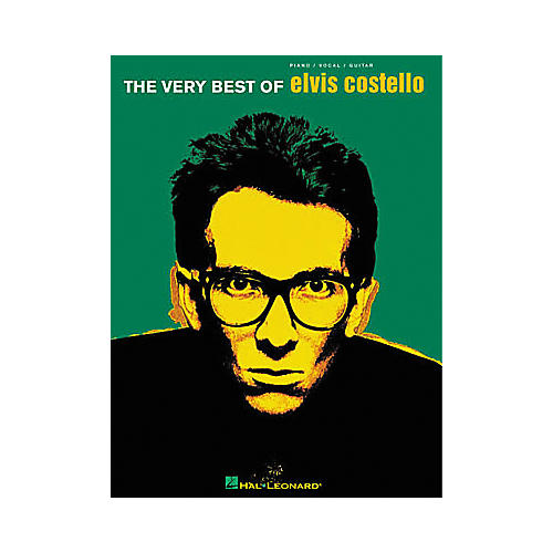 Hal Leonard The Very Best of Elvis Costello Songbook-thumbnail