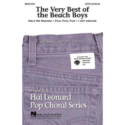 Hal Leonard The Very Best of the Beach Boys (Medley) SATB by The Beach Boys arranged by Ed Lojeski