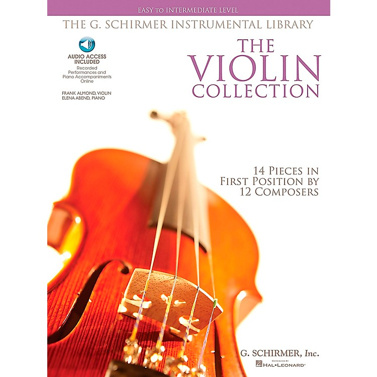 G. Schirmer The Violin Collection - Easy To Intermediate Violin / Piano G.Schirmer Instrumental Library