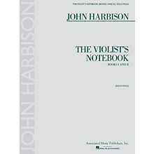 Associated The Violist's Notebook (Books I and II) String Series Softcover Composed by John Harbison